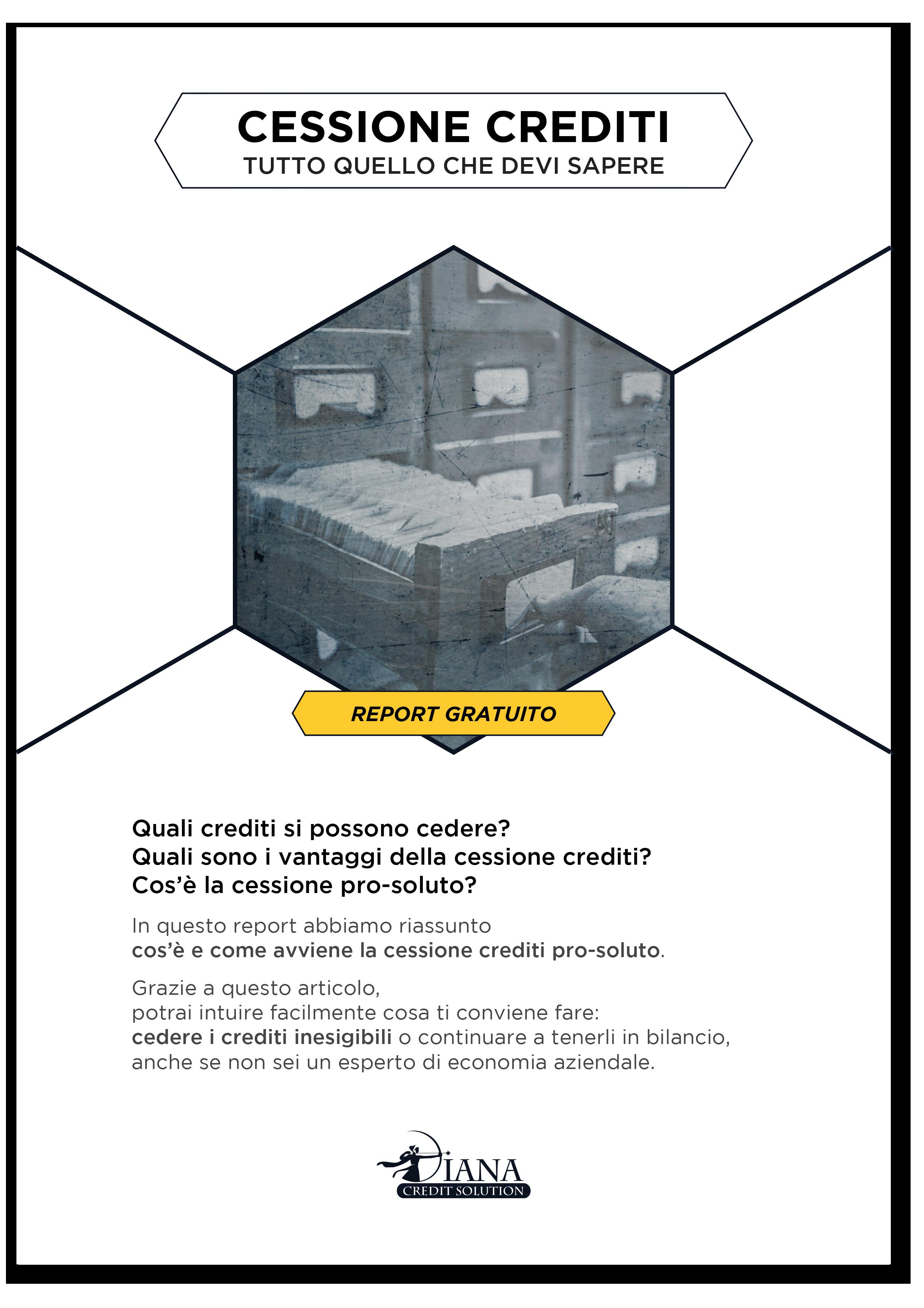 Cessione Crediti pro soluto | DianaCredit.it